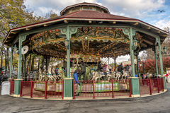 La Ronde Amusement park carousel Royalty Free Stock Photos