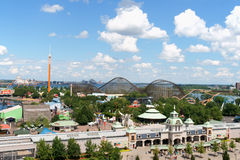 La Ronde Amusement Park, Montreal Stock Photography