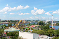 La Ronde Amusement Park, Montreal Royalty Free Stock Images
