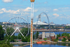 Free La Ronde Amusement Park, Montreal Royalty Free Stock Image - 43264826