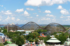 La Ronde Amusement Park in Montreal Stock Photo