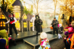 La Ronde Dancing witch Stock Photos