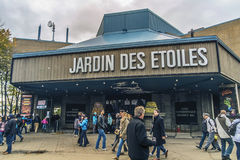 La Ronde Jardin des Etoiles 库存图片