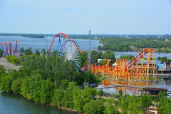 La Ronde om iamusementpark Royalty-vrije Stock Afbeelding
