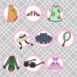 La ropa de la mujer libre illustration