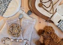 La ropa de las mujeres, accesorios Imagen de archivo