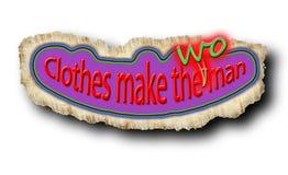 La ropa hace a la mujer Fotografía de archivo libre de regalías