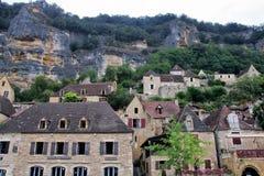 La Roque-Gageac 免版税图库摄影