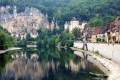 La Roque-Gageac 库存图片