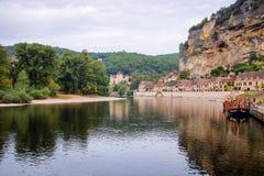 La Roque-Gageac Imagen de archivo libre de regalías