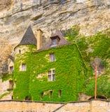La Roque-Gageac, Dordogne Stockbilder