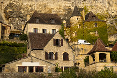 La Roque-Gageac Dordogne Royalty Free Stock Photos