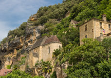 La Roque Gageac, Dordogne valley Stock Photos