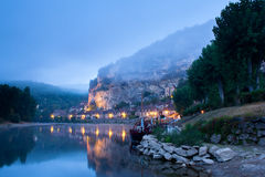 La Roque Gageac Dordogne Perigord Noir France Royalty Free Stock Images