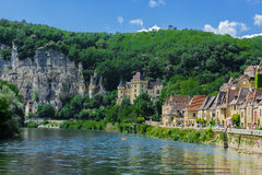 La roque gageac france Royalty Free Stock Photo