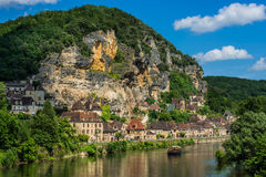 La roque gageac france Stock Photos