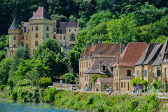 La Roque Gageac france Royalty Free Stock Photography