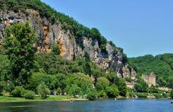 La roque Gageac Stock Image