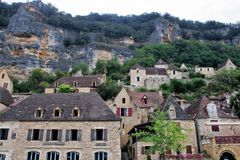 La Roque-Gageac Royalty Free Stock Photography