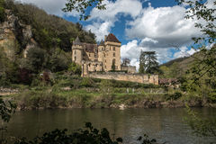 La Roque Gageac , french village in valley of Dordogne Royalty Free Stock Photo