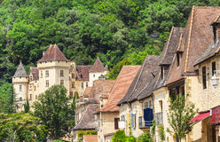 La Roque-Gageac town Stock Photo