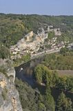 La Roque-Gageac View Stock Photos