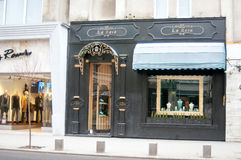 La rosa shoppar Royaltyfri Foto