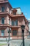 La Rosada Casa de Gobierno argentina imagens de stock royalty free