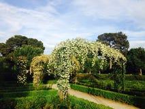 La Rosaleda park in Madrid Spain Stock Images