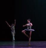 La rotazione del ` dito del piede-classico della raccolta di Austen del ` di balletto Fotografie Stock
