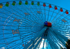La rotella di Ferris Immagine Stock Libera da Diritti