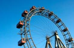 La rotella di Ferris gigante Fotografia Stock