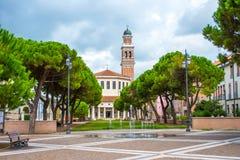 La Rotonda, Rovigo, Veneto, Italië Stock Foto