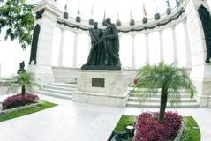 La rotunda malecon 2000. Statue monument la rotunda malecon 2000 guayaquil ecuador famous tourist destination outdoor park Royalty Free Stock Photos