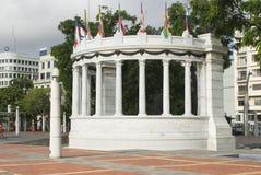 La rotunda malecon 2000. Statue monument la rotunda malecon 2000 guayaquil ecuador famous tourist destination outdoor park Stock Photography
