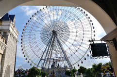 La roue de ferris Photo stock