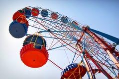 La roue de ferris Images libres de droits