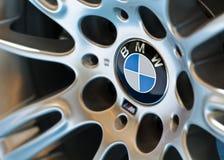 La roue de la BMW Photos libres de droits
