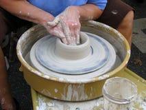 La roue de potier #3 Image stock