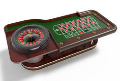 La roue de roulette de casino 3D rendent Photo stock