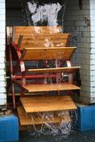 La roue des watermill Photo stock