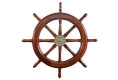 La roue du bateau Images libres de droits