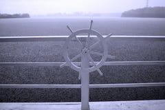 La roue du bateau Image stock