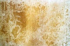 la rouille et l'érosion de la surface en béton ont été endommagées par des eaux souterraines photos stock