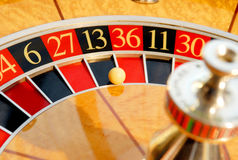 La roulette Images stock
