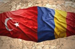 La Roumanie et la Turquie Photographie stock