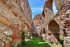La Roumanie - forteresse médiévale Slimnic photographie stock libre de droits