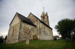 La Roumanie - l'église Santa Maria-Orlea Photos stock