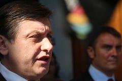 La Roumanie - le Président Referendum Image libre de droits