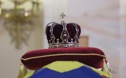 La Roumanie - le Roi Michael I - enterrement royal Image stock